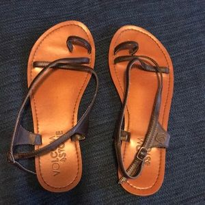 Volcom strappy sandals